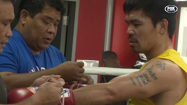 Pacquiao gears up for Horn