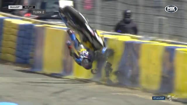 Miller's scary crash in FP4