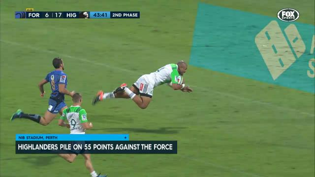 Force flogged by Highlanders