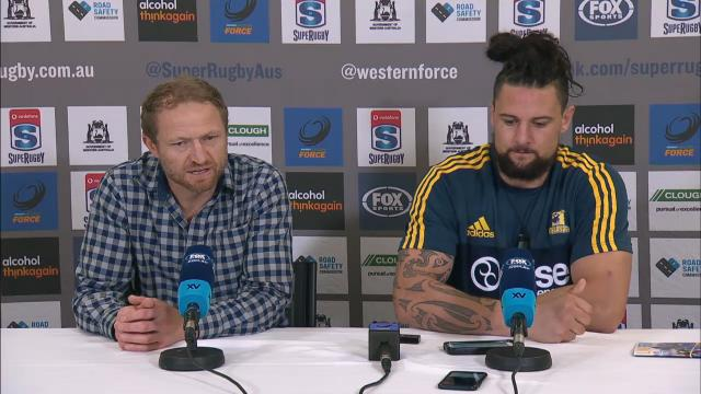 Highlanders press conference