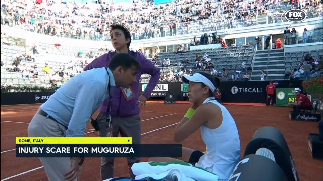 Muguruza pulls out