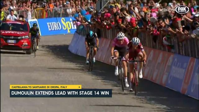 Dumoulin gets his second win