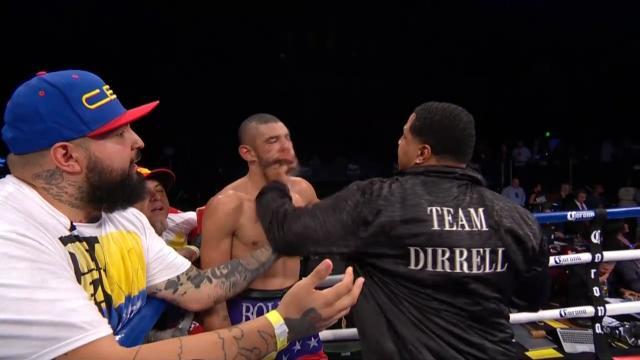 Boxer's camp wallops winner