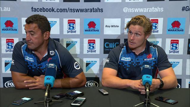 Waratahs press conference