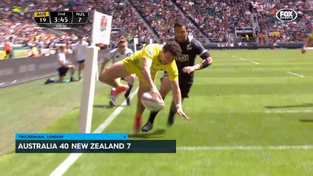 Aus finally get one over NZ