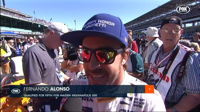 Alonso qualifies 5th fastest