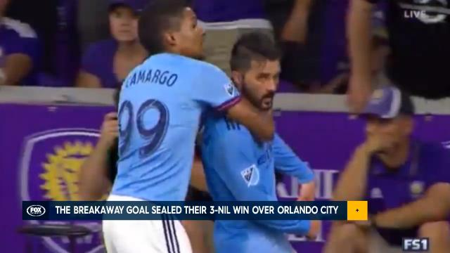 Villa scores MLS cracker