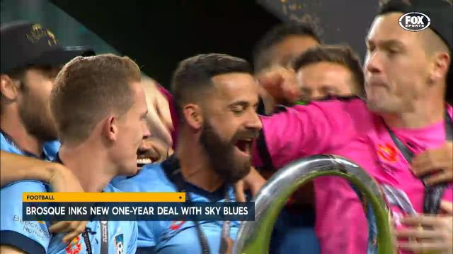 Brosque inks new deal