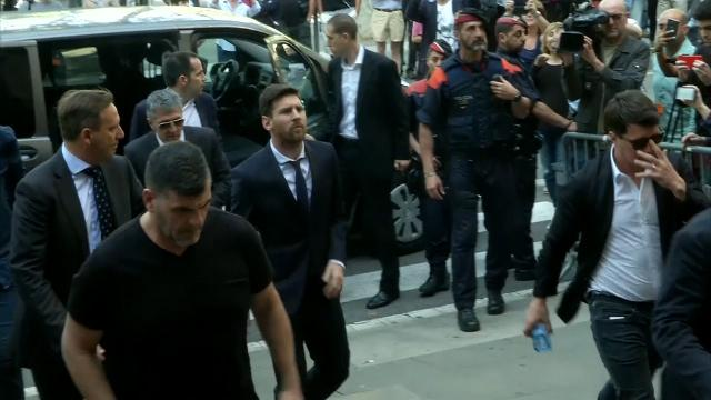 Messi situation: Guilty