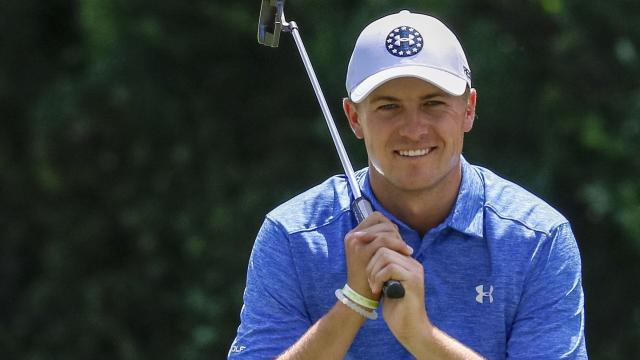 Spieth's mixed start