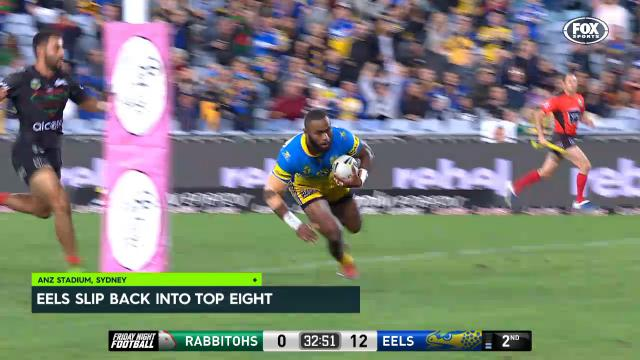 Eels go back into the eight