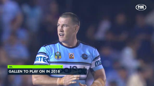 Gallen intends to play on