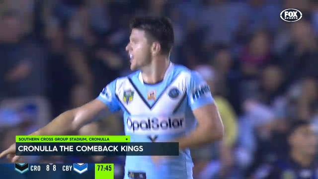 Sharks sink Bulldogs late