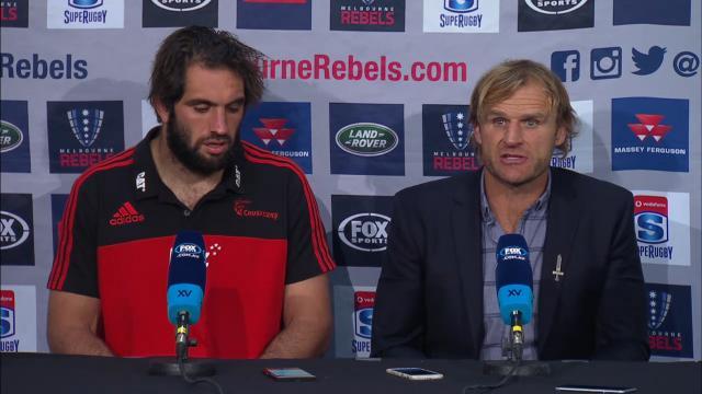 Crusaders press conference