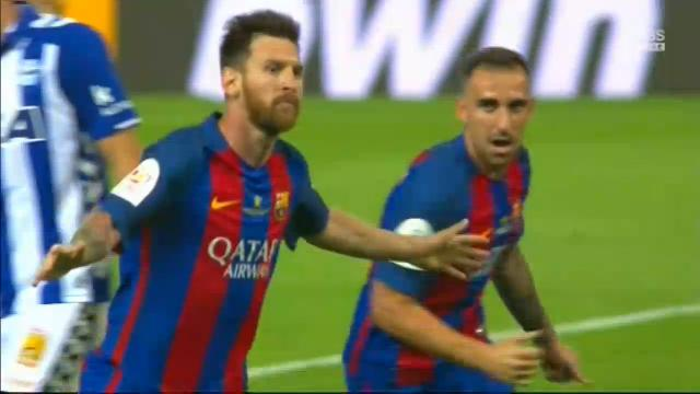 Goal! Messi & Neymar combine