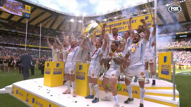 Exeter's fairytale title win