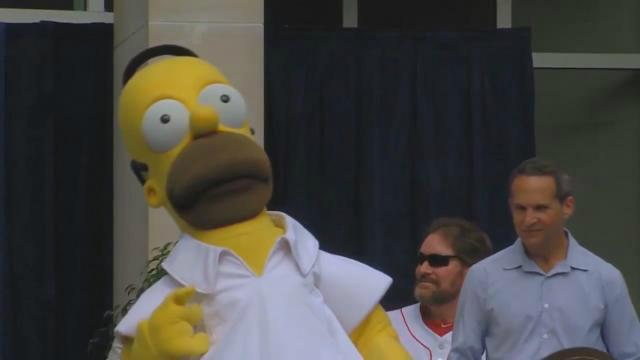 Homer into hall of fame