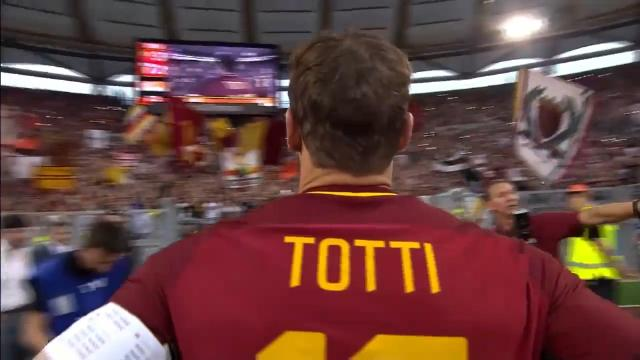 Totti farewelled in style