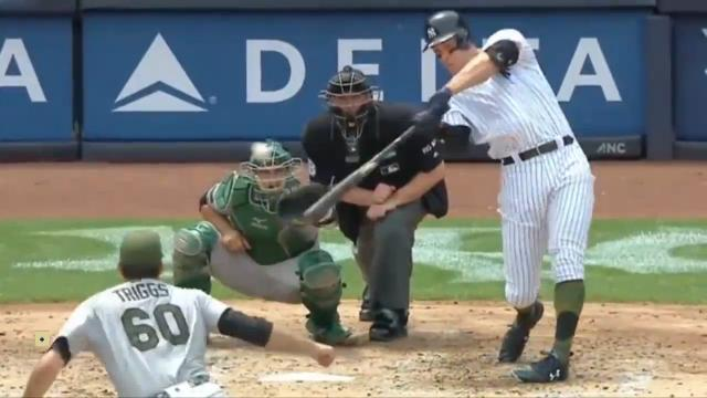 Judge hits first grand slam