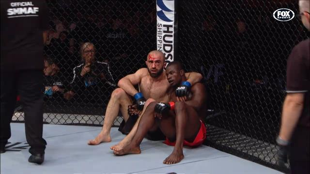 Ultimate UFC sportsmanship