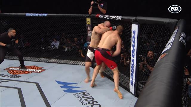 How did this lead to a KO?
