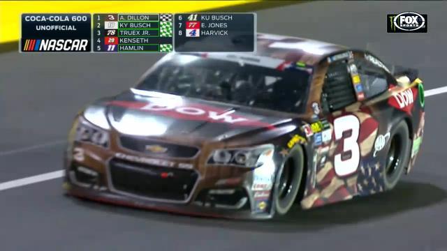 Emotional NASCAR win for No.3