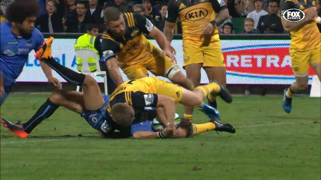 Barrett's brilliant try saver
