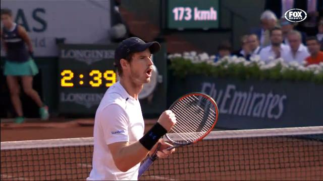 Murray two wins away