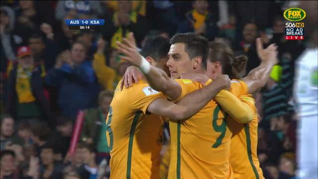 AUS v KSA: match highlights