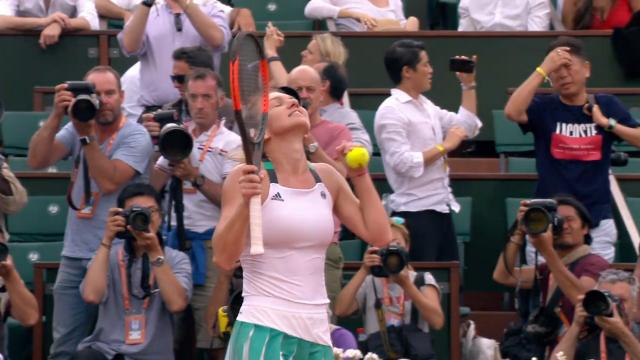 Halep into French Open final