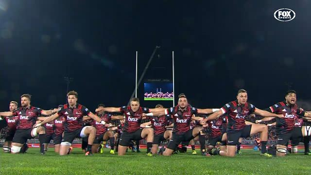 Crusaders unveil new Haka