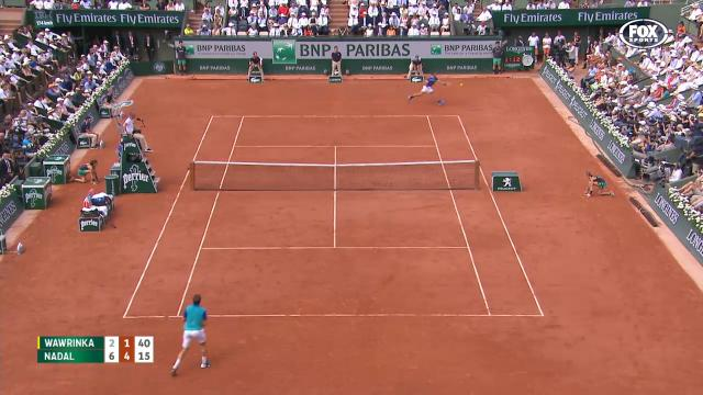 Rafa's 'impossible' forehand