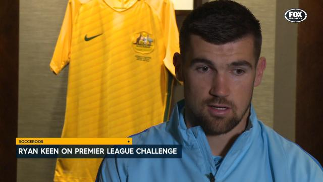 Ryan keen for PL challenge