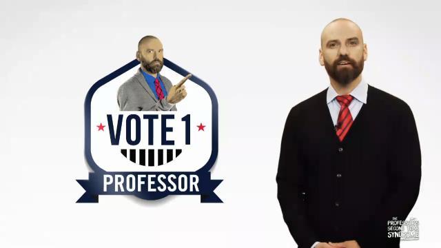 Vote Professor for Chairman!
