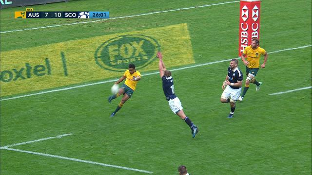 Genia can't clear Scots