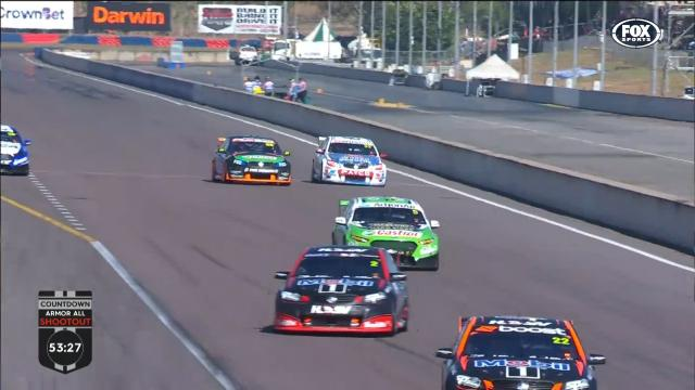 Tander's top-speed close call
