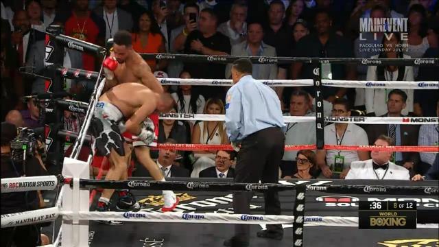 Ward's controversial TKO win