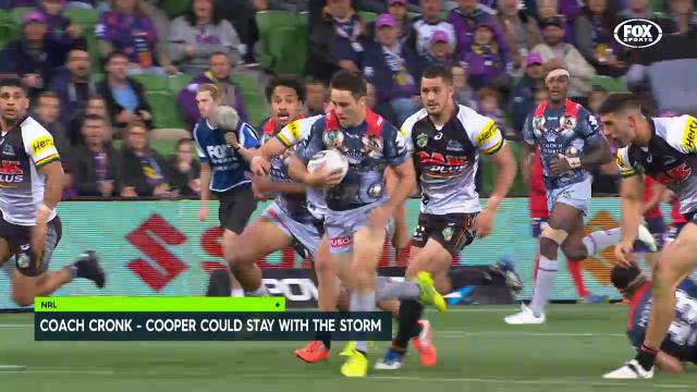 Cronk to coach at the Storm?