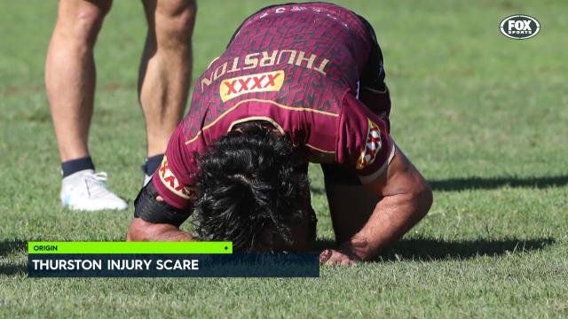 Thurston injury scare