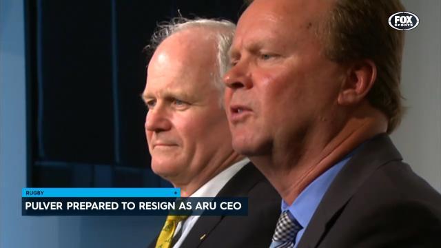 Pulver prepared to resign