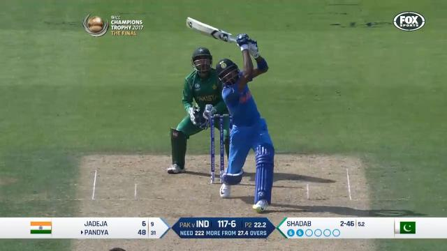 Pandya's six-hitting blitz