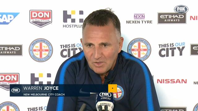 Joyce appointed City coach