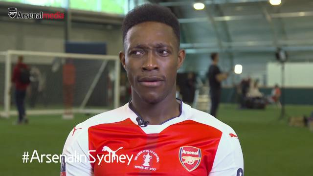 Gunners try out Aussie slang