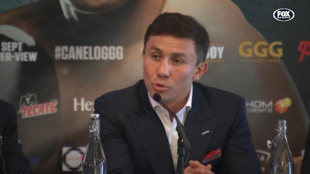GGG: 'You talk too much'