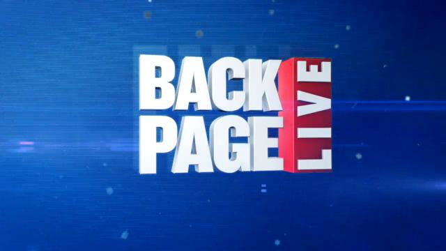 Back Page Live (20/6/17)