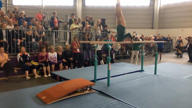 Gymnast defies belief at 91