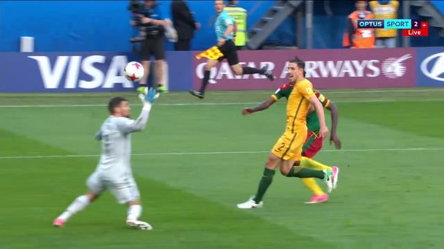 Aussies concede sloppy goal