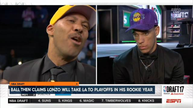 'Lonzo to Playoffs as Rookie'
