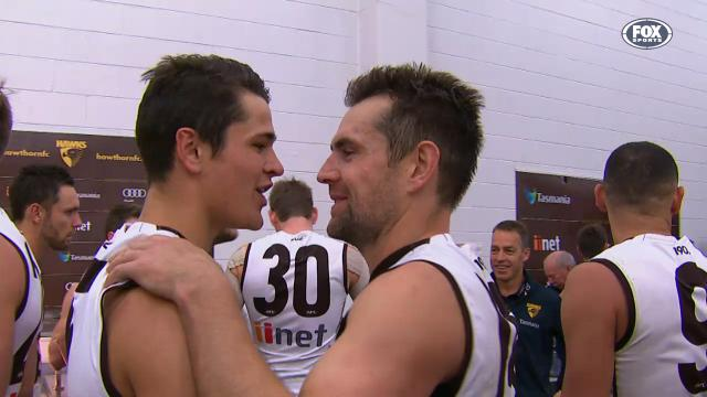 Hodgey shows leadership
