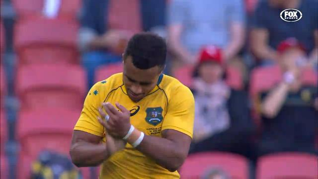 Genia forgets how to pass
